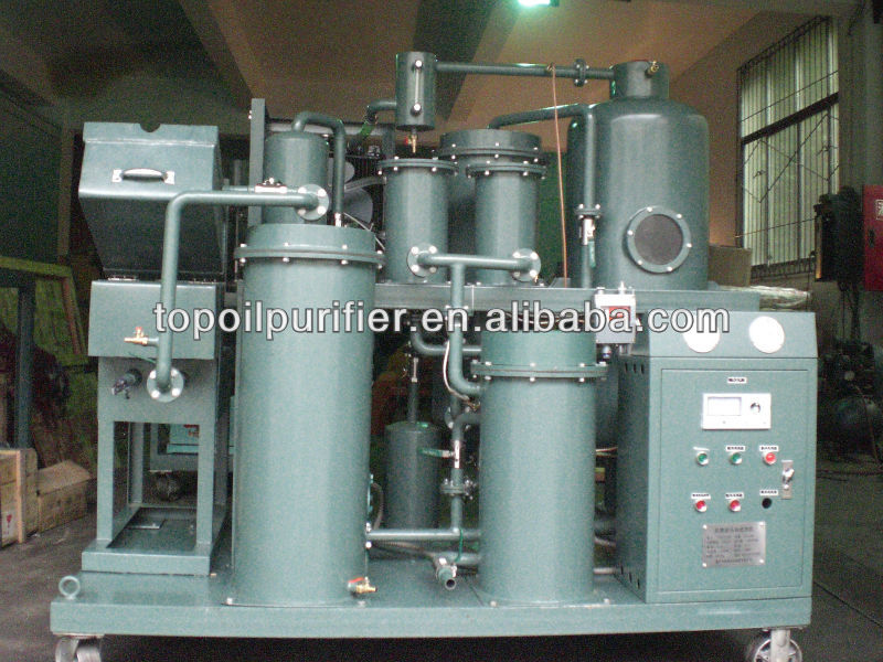 Mobile Used Lubricating Oil Recycling Filter Machine