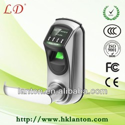 Zinc Alloy biometric fingerprint door lock,door handle lock fingerprint,cheap biometric fingerprint door lock