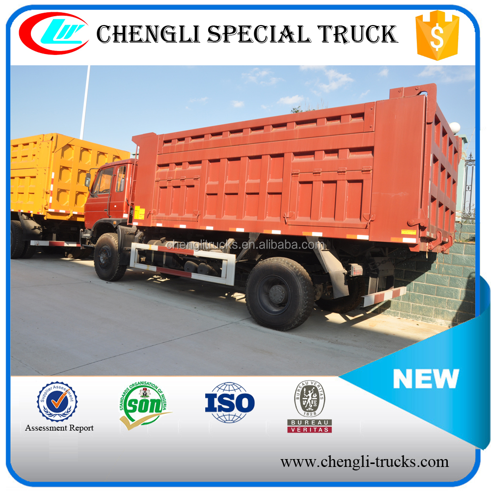 Dongfeng 6*4 260HP LHD RHD 25Tons Used Dump Truck