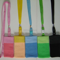 Mobile Phone Accessories Pouch Neck Lanyard