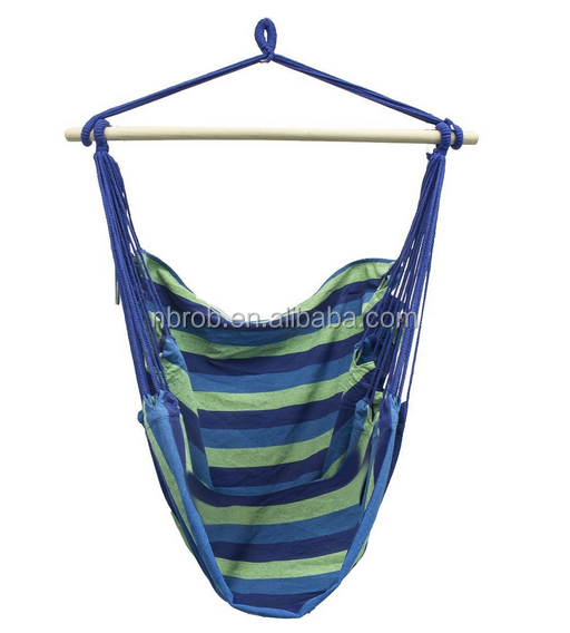 Comfort & Durability-Hanging Cotton Hammock Swing Chair