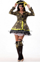 Cosplay costume caribbean pirate costume women carnival costume BWG10831