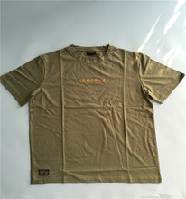 mens embroideried military green colour tactical t shirt