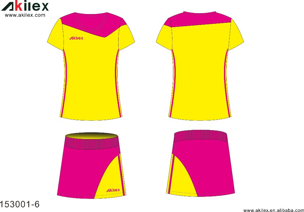custom girls badminton skirt badminton uniform