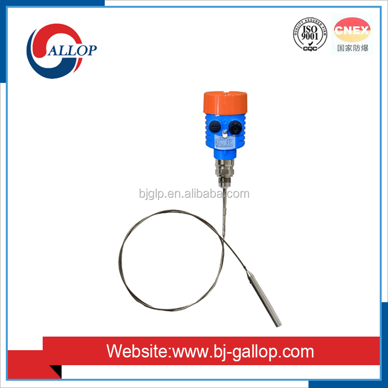 radar level meter for capacitive fuel level sensor