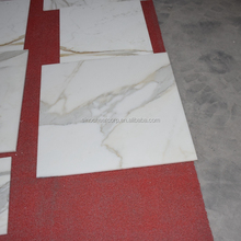 Types Italian white marble calacatta marble tiles and marble flooring tile