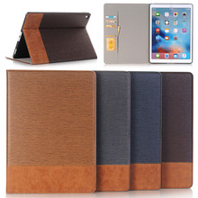 New arrive update Stent Stripe cowboy pattern leather case for ipad pro 12.9 2017