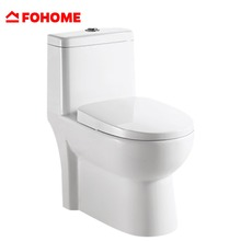 High admiration and widely trust rimless siphon flush one piece toilet bowl brand