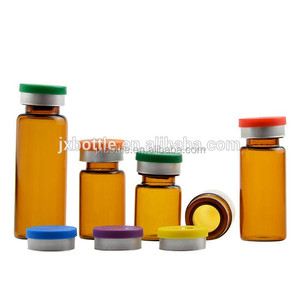10ml sterile vials for injection with custom logo print ,15ml glass vials for injection with vials rubber stopper