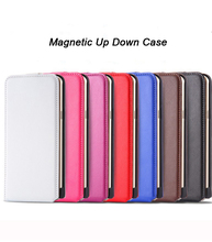 New Magnetic Leather PU Vertical Protector Phone Case for Huawei F7 S5 G8 G9