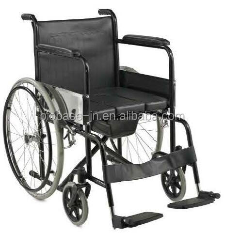 Cheap price Hospital equipment wheelchair with toilet /commode wheelchair shower commode chair wheelchair
