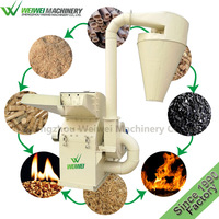 Weiwei wood working machine sawdust machine wood crushing price in india for animal bedding