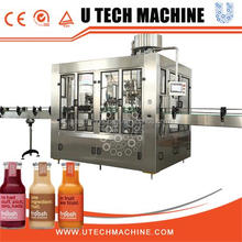 High speed big capacity glass bottle Bottled Pure/Mineral Water Filling Machine/glass bottle coke sprite production line