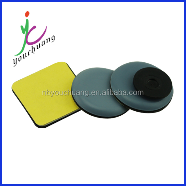 China supplier wholesale grey round self adhesive teflon furniture glides