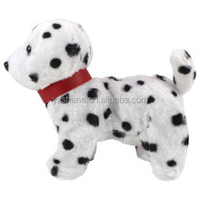 My Dancing Puppy Dalmatian Puppy Walk Along Toy Stuffed Plush Dog Realistic Dancing & Walking Actions with Music