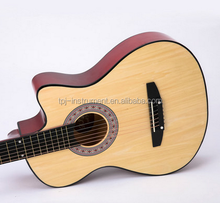 Fully Handmade solid maple wood Flattop acoustic Guitar