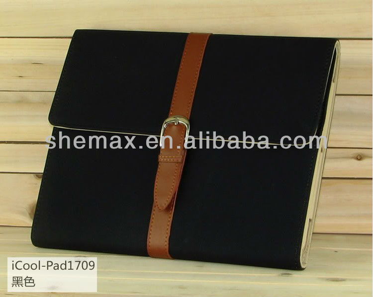 Hard Leather Smart Tablet PC Cover for New iPad 2 3