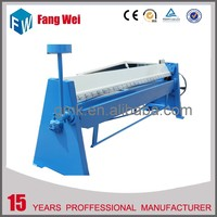 manual fold machine , metal plate folding machine