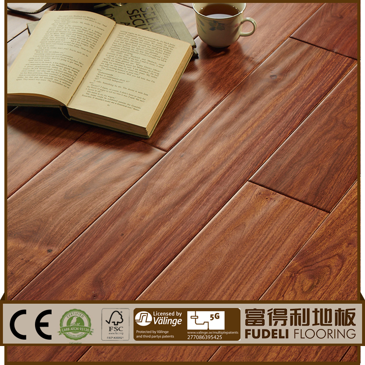 Antique exotic solid wood flooring
