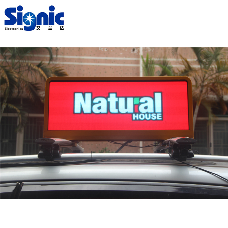 <strong>LED</strong> 3G/4G Wifi taxi roof <strong>led</strong> <strong>display</strong>/<strong>led</strong> screen car advertising/taxi top sign for car advertising
