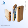 Custom & Unique Design Shaped Printed/Carved Promotional/Promotion Wooden/Wood Gift Item Cell Phone/Iphone/Mobil Hard Case/Cover