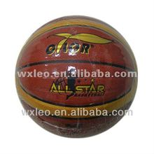 12 Panels PU leather basketball,official size/weight basketball,laminated PU basketball