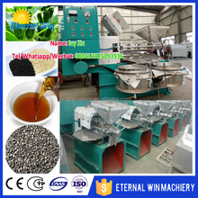 2017 hot mustard oil making machine linseed oil extraction machine