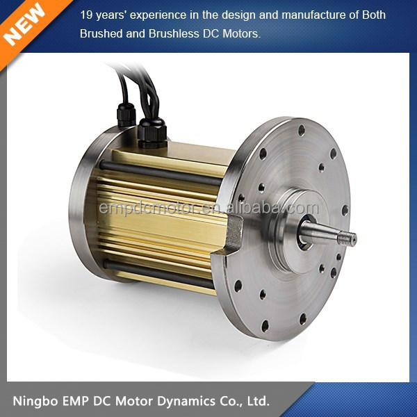 24V DC Traction Motor For Electric Vehicle