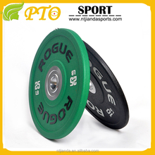 bodybuilding training weight stack rubber plates