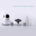 2016 hottest home automation alarm system with APP WiFi GSM GPRS alarm system wireless home security alarm system