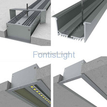 Large quantity in stock Recessed Led Liner Light housing ALP045/ Led Strip light housing