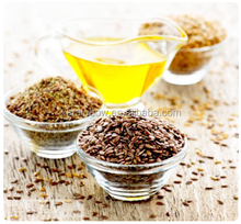 100% Pure Cold Pressed Raw Crude Flaxseed Oil Linseed Oil