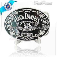 Jack Daniels Metal Belt Buckle
