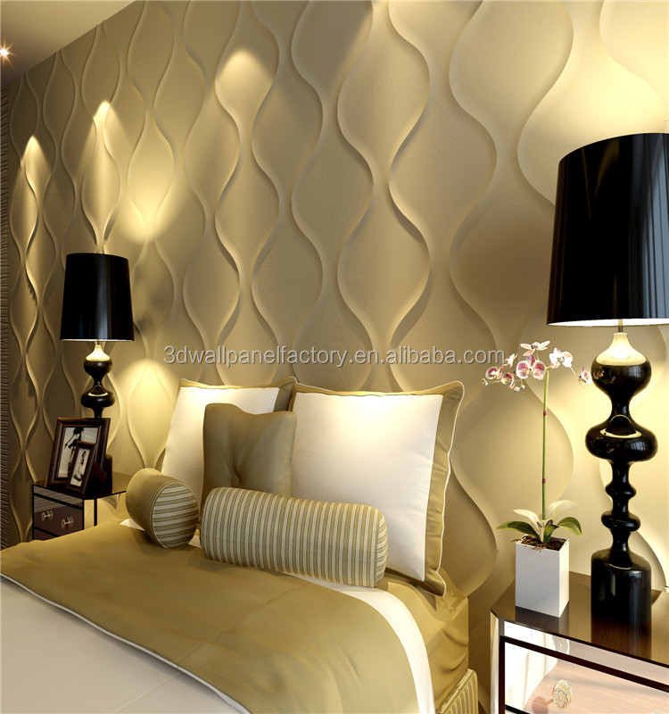 Building materials decorative wall panel Bamboo 3D Wall Panel