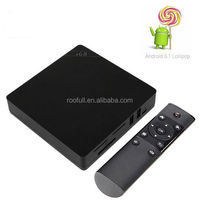 Original Roofull Orion R68 Meta Android TV Box RK3368 Octa-Core CPU Android 5.1 Lollipop 2G/16G HDMI2.0 H.265 2.4/5Ghz Wifi 4K