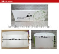 Food grade tray packaging box for fried chicken/french chips/salad