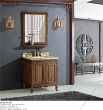 New Classic Funky Bright Amber Color Bathroom Furniture