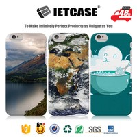Wholesale funky cell phone accessories mobile case 3D beautiful plastic back cover with print for iphone 6 6s plus