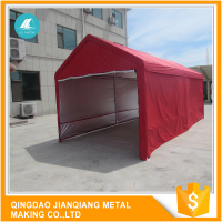 Advance Equipments And Technology Fireproof JQA1220 Steel Frame Metal Car Parking Canopy Tent