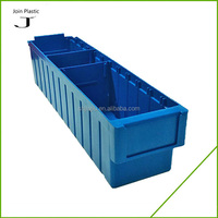 heavy duty small stacking plastic storage parts bin