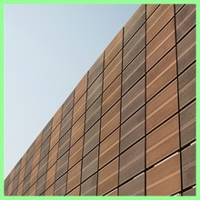 Wood plastic composite outdoor prefabricated wall panels