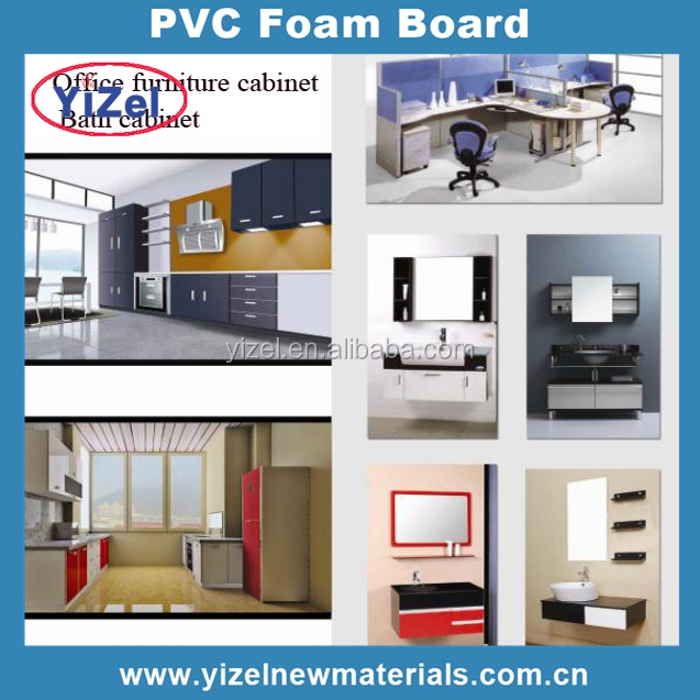 Chinese factory PVC Material pvc sheet price pvc forex board for cabinets