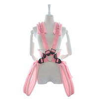 Fantasy Adult Bondage Restraint Kit Sexy Toy Adult Sexy Toy for Women M letter