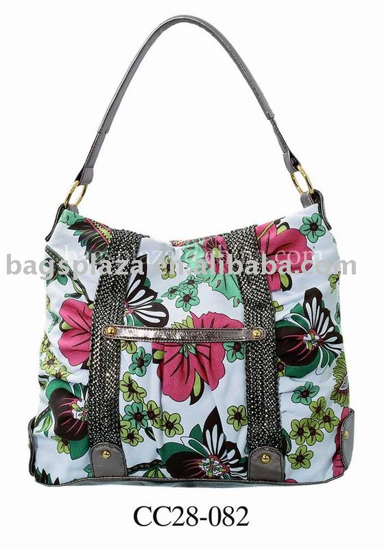 Alibaba China 2013 Designer Hot Selling Fashion Style Bags Women Canvas Handbags with Cheap Price in Guangzhou CC28-082
