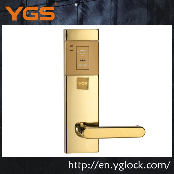 elegant face plate door lock hotel