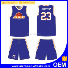 2017 Top quality profesional make basketball jersey design printed sample basketball uniform design