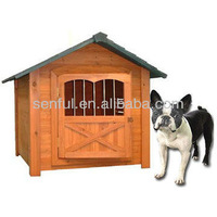 Wooden Dog Kennel House With Door