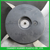 plastic electric motor cooling fan blade