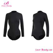 Factory price black long sleeve wholesale rash guards custom