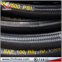 Industry Rubber Smooth stainless steel braided hose rubber passion garden hose